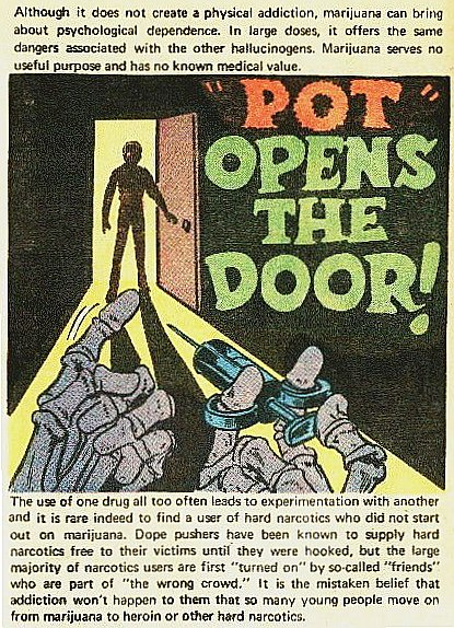 Teen-Age Booby Trap (Comic Book from the US Bureau of Narcotics & Dangerous Drugs, circa 1970)